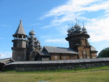 Insel Kischi (Onegasee) - Freiluftmuseum Kischi