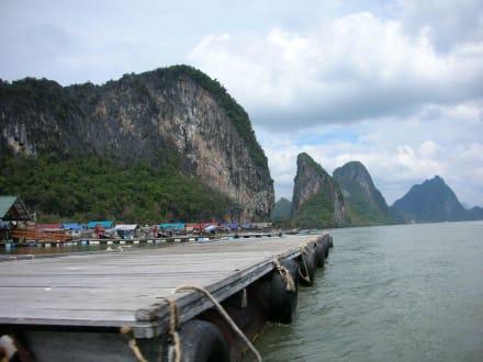Auf dem Weg zu James Bond Island - Phang Nga Bucht/Nationalpark Ao Phang Nga
