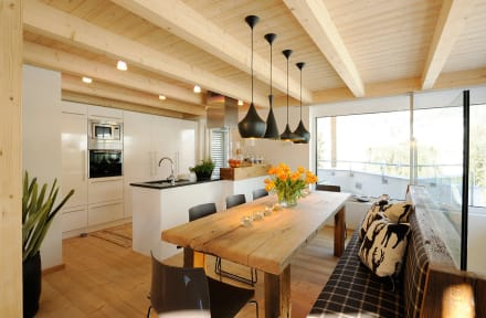 Schöner kochen die offene wohnküche planen schöner wohnen