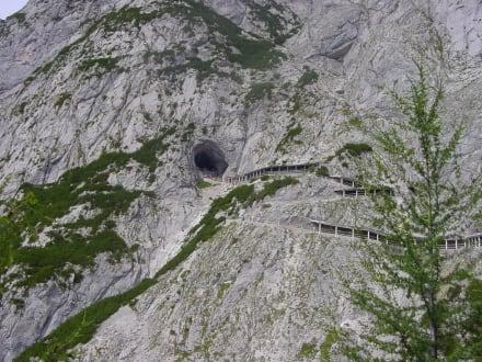 Der Höhleneingang - Eisriesenwelt Werfen