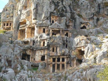 Felsengräber in Myra - Felsengräber von Myra