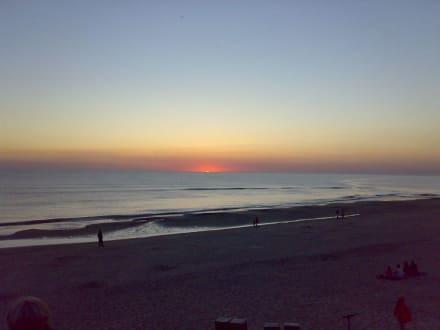 Sonnenuntergang - Strand Sondervig