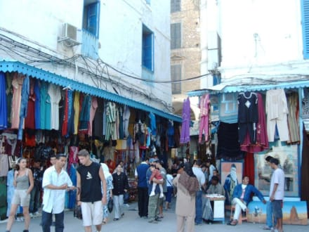 Eingang zu den Souks, Tunis - Souk / Bazar