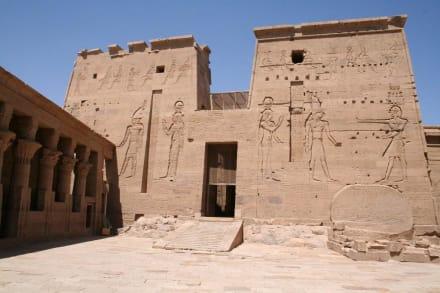 Nilinsel Philae, Tempel von Philae - Philae Tempel