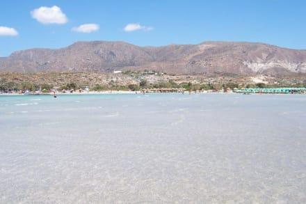 Strand von Elafonissi - Strand Elafonisi/Elafonissi