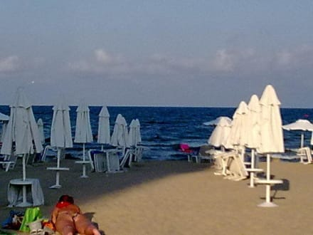 Hotelová pláž -