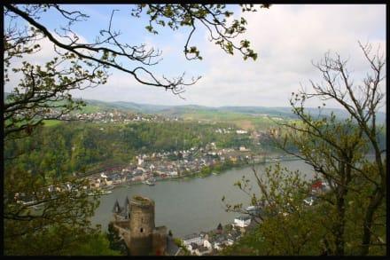 St. Goarshausen mit Burg Katz - Burg Katz