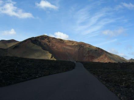 Die feuerberge von Lanzarote - Nationalpark Timanfaya (Feuerberge)