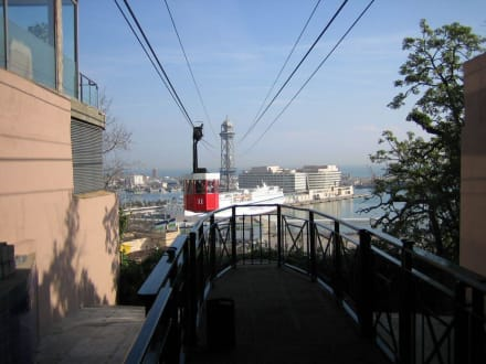 Seilbahn - Hafenseilbahn Barcelona