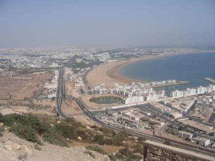 Strand von Agadir - Strand Agadir