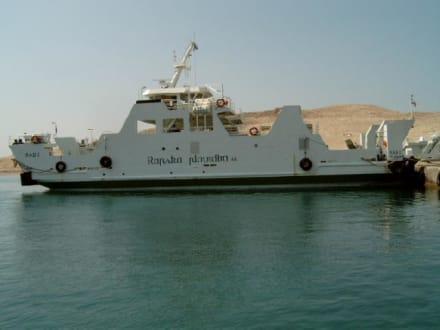 Autofähre von Loplar nach Rab - Hafen Rab