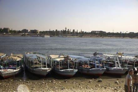 Bootsfahrt auf dem Nil - Nil
