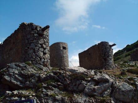 Windmühlen, Lassithi-Hochebene - Hochebene von Lasithi