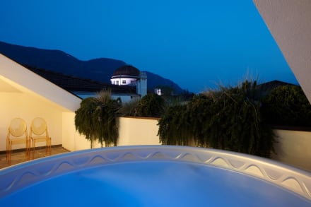 Panoramic view from private jacuzzi of room 41 -