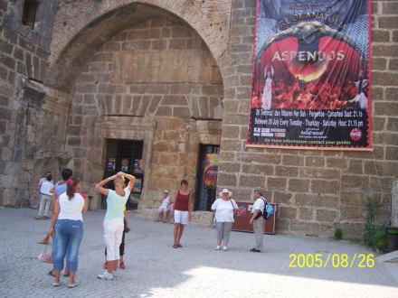 Theater in Aspendos - Theater von Aspendos