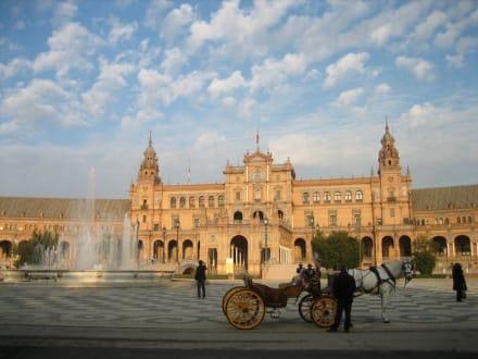 In der Abendsonne - Plaza de Espana