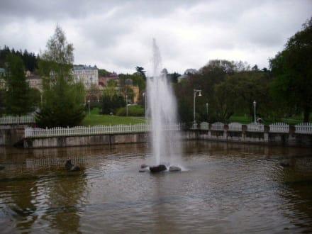 Sights (other) - Singing Fountain Marianske Lazne