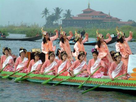 Burmanesischer Leichtgewichtszwanziger - Inle See