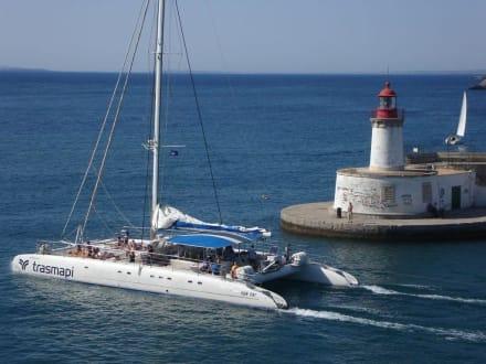 Hafen Detail - Hafen Ibiza Stadt