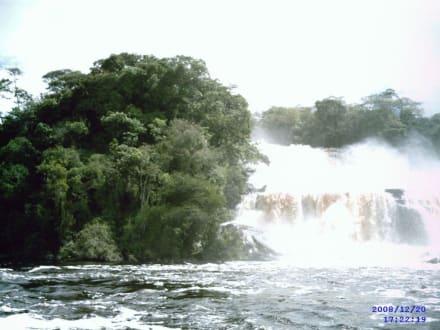 Salto El Sapo - Wasserfälle von Canaima - Salto Sapo