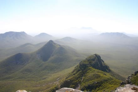 Auf dem Toolbrunnup Peak - Stirling Ranges