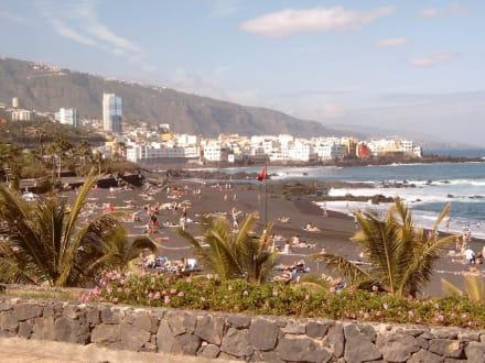 Playa Jardín von Puerto de la Cruz  auf Teneriffa - Playa Jardín