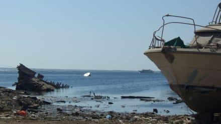 Rettung zu Spät - Bootswerft Hurghada