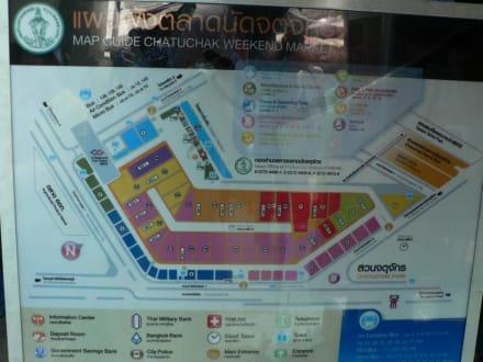 Lageplan Weekendmarket - Chatuchak Weekend Market