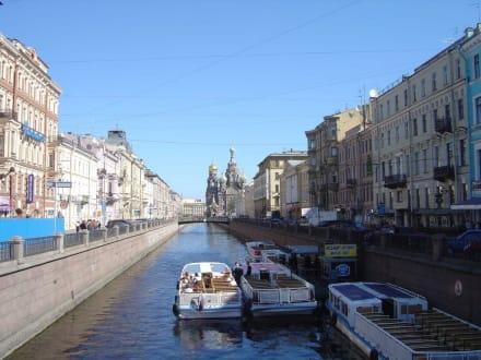 Schiffsanlegestelle - Kanalrundfahrt