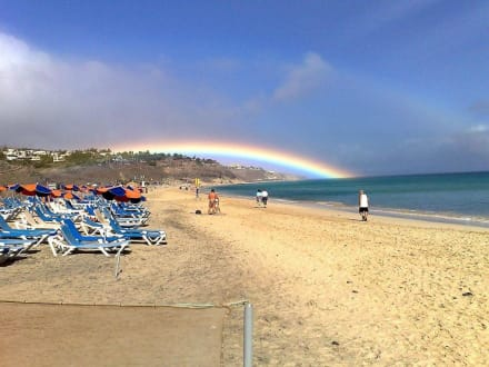 Das schöne am Regen! - Strand Playa de Esquinzo / Playa de Butihondo