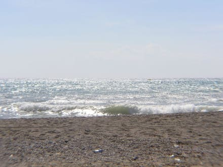 Der ausblick wäre ja schön - Strand Keykubat