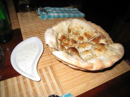 bevor das Essen serviert wird - La Piazzetta