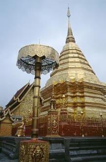 Chiang Mai - Kloster Wat Phra Doi Suthep. - Wat Phrathat Doi Suthep