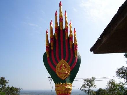 7 Köpfige Cobra - Weisser Buddha