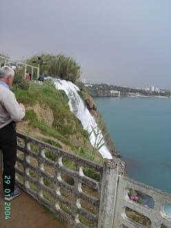 Wasserfall nahe Antalya - Unterer Düden Wasserfall / Karpuzkaldiran Şelalesi