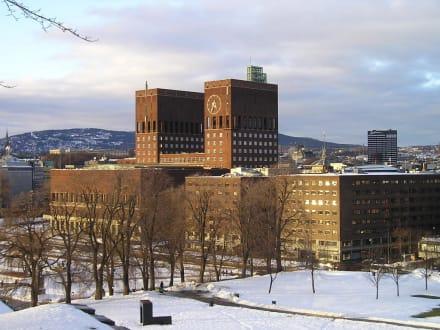 Rathaus Oslo - Rathaus