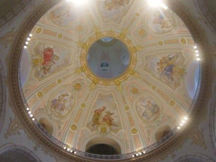 Blick in die Kuppel - Frauenkirche