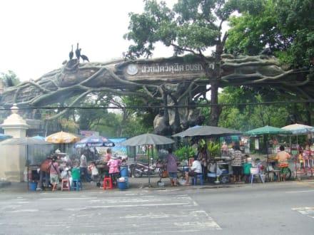 Eingang zum Dusit Zoo - Dusit-Zoo