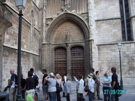 Besichtigungs- Eingang - Kathedrale La Seu