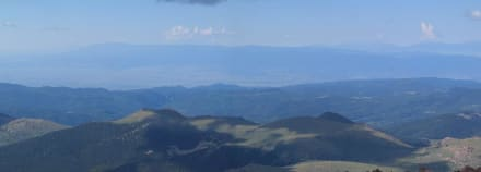 Panorama Pikes Peak - Pikes Peak