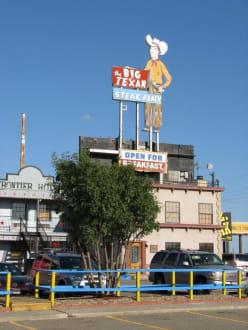 Blick auf das Restaurant - Big Texan Steak Ranch