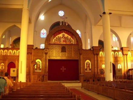 Kanzel - Koptisch Orthodoxe Kirche Erzengel-Michael
