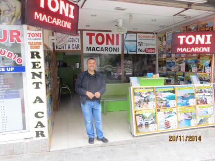 Tonis Reisebüro - Toni Macaroni's Ausflüge