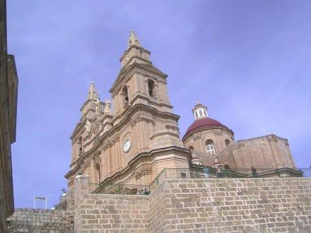 Kathedrale in Mellieha - Kathedrale in Mellieha