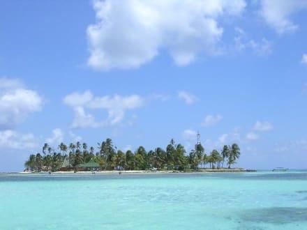 Vorgelagerte traumhafte Insel Haynes Cay - Haynes Cay