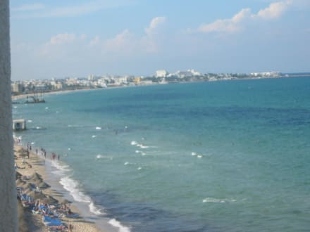Blick auf Port el Kantaoui - Strand Port El-Kantaoui