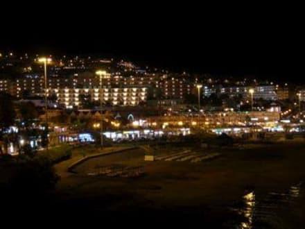 Costa Adeje bei Nacht - Strand El Duque