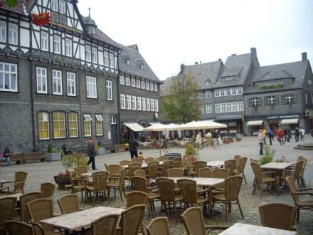 Marktplatz in Goslar - Altstadt Goslar