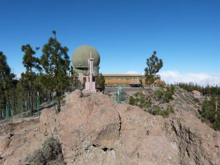 Neben dem Gipfel, Richtung Norden - Pico de las Nieves