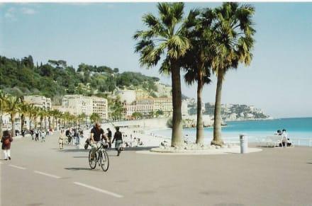 Strandpromenade von Nizza - Promenade des Anglais